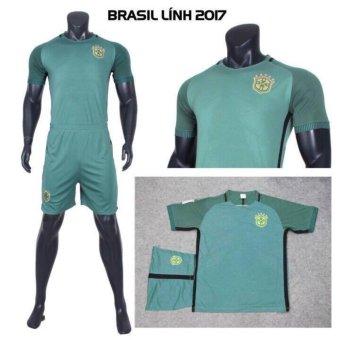 Bộ Đồ Đá Banh Brasil 2017 CP (Lính)