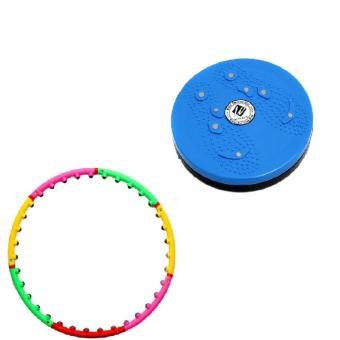 Bộ vòng lắc eo giảm cân hoạt tính massage và đĩa xoay eo - 8619681 , OE680SPAA3IZD4VNAMZ-6232774 , 224_OE680SPAA3IZD4VNAMZ-6232774 , 376000 , Bo-vong-lac-eo-giam-can-hoat-tinh-massage-va-dia-xoay-eo-224_OE680SPAA3IZD4VNAMZ-6232774 , lazada.vn , Bộ vòng lắc eo giảm cân hoạt tính massage và đĩa xoay eo