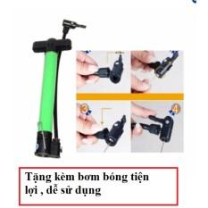 Bơm mini cầm tay, bơm xe đạp tặng kèm bơm bóng tiện lợi