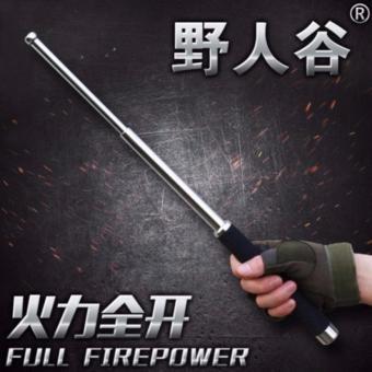 Chuôi (tay câm) cây gậy thể thao size 26 (ba-ton ) titan zin loại 1 màu bạc - 2