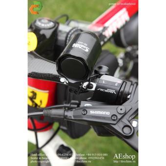 còi xe đạp âm thanh lớn kiêm báo động chống trộm xe đạp khóa mật mã SD-603