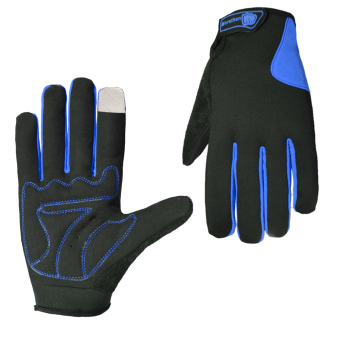 Cycling Gloves Bicycle Motorcycle Sport Full Finger Touch ScreenGloves - INTL
