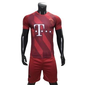 Đồ đá banh Bayern 17-18 ML (Đỏ rằn ri)