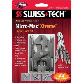 Dụng cụ đa năng SwissTech Micro-Max Xtreme 22-in-1