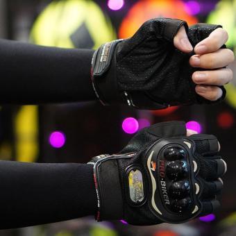 Giá Sốc Găng tay bao vệ tay phượt thủ – Quốc tế – Lazada – Nữa ngón GT101N