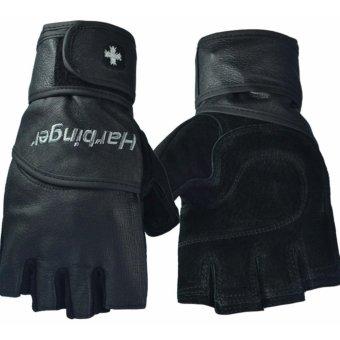 Tư vấn mua Găng tay tập gym trợ lực cổ tay Harbinger Pro size L