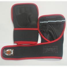 Giảm giá Găng tay tập tạ cao cấp Pando (đỏ đen)