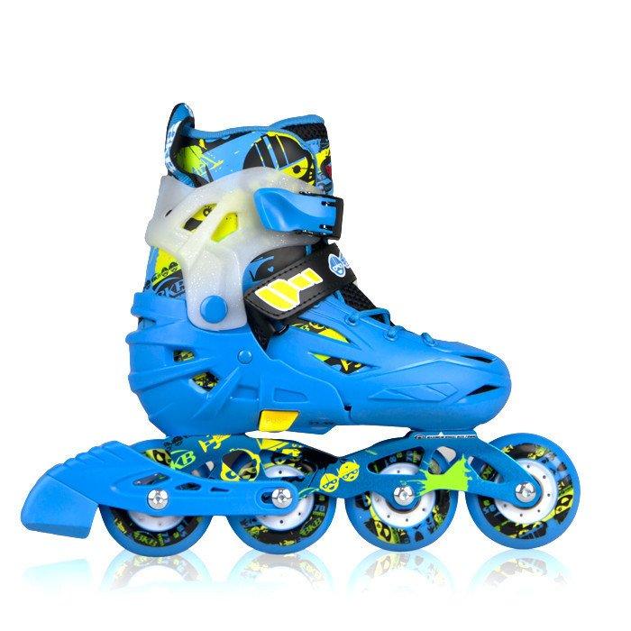 Giày patin Trẻ em Flying Eagle K6 (xanh)