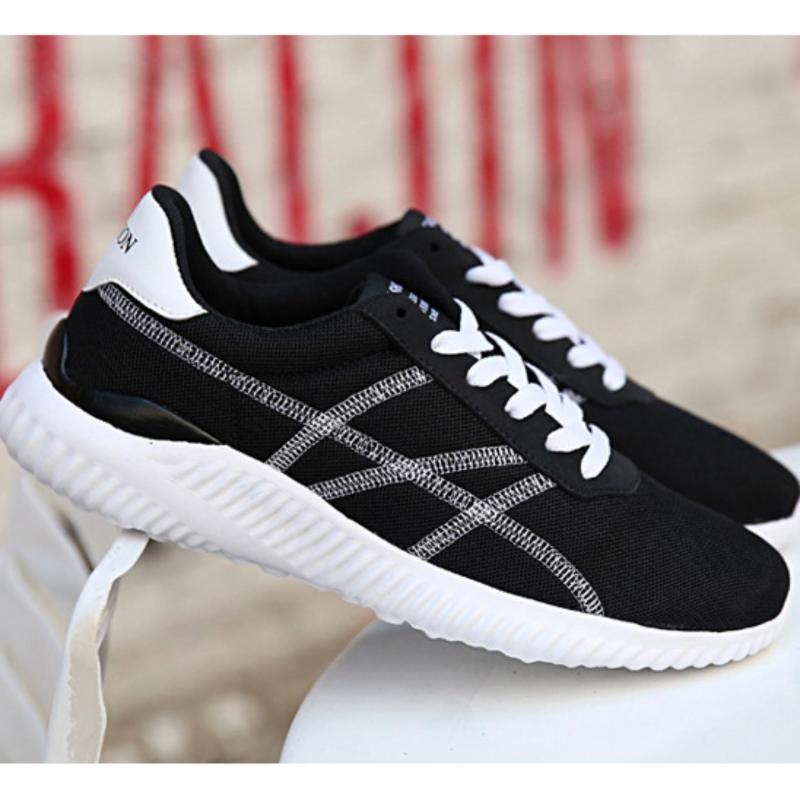 Giày thể thao nam màu đen - GTT 11.2