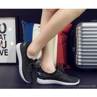 Giày thể thao nữ siêu thoáng Sportmax SPW905626D - Đen - 5