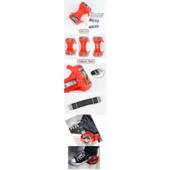 Giày trượt patin phát sáng 2 bánh thế hệ mới MLS-83