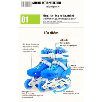 Giày trượt Patin Sports Size M