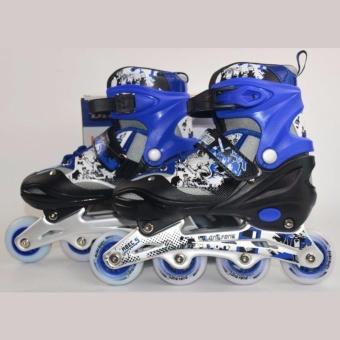 Giầy trượt patin trẻ em Long feng 906 size M-Phù hợp cho trẻ từ7-12 tuổi