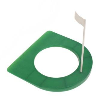 Golf plastic putter plate - intl