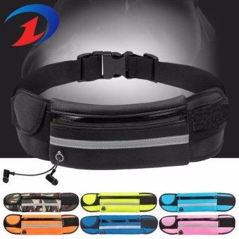 Túi thể thao đeo bụng chạy bộ có dải phát quang H103