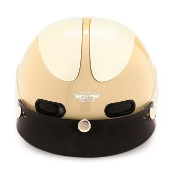 Nón bảo hiểm nửa đầu ACE - AN01 (Sữa)
