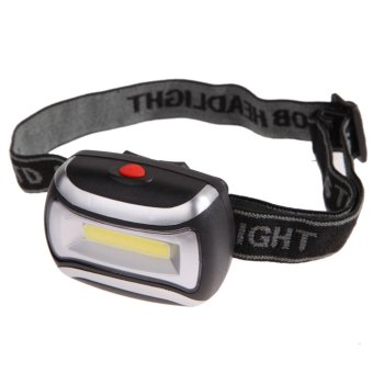 600 lm Waterproof 5W Headlight Outdoor Lighting Head Lamp(Black) - intl