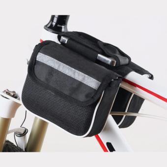 Túi đa năng để vật dụng nhỏ trên sườn xe đạp (Đen)
