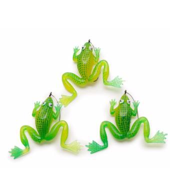 Bộ mồi ếch giả không lá Hou Jia (3 con)