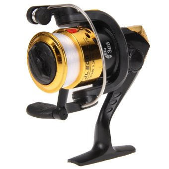 Aluminum Body Spinning Reel 3BB G-Ratio 5.2:1Fishing Reels with Line