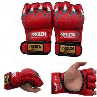 Mua Găng tay boxing wolon hở ngón (Đỏ) giá tốt nhất