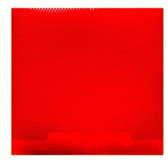 Mút bóng bàn DAWEI Palio 388D-1 (Đỏ)