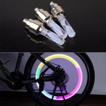Bộ 2 đèn Led gắn van bánh xe đạp