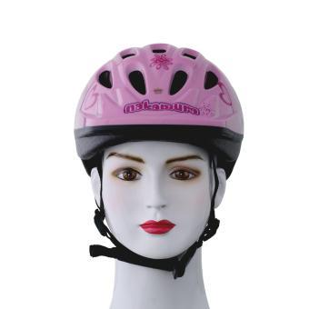 Nón bảo hiểm xe đạp Royal (Hồng với họa tiết)