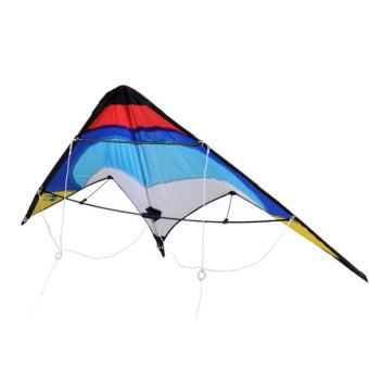 Cyber Professional Sporty Stunt Kite Dual Line Control Windy Outdoor Leisure Activity - intl