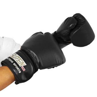 SUTEN 1 Pair PU Boxing Kickboxing Training Fighting Sandbag Gloves for Fighter - intl