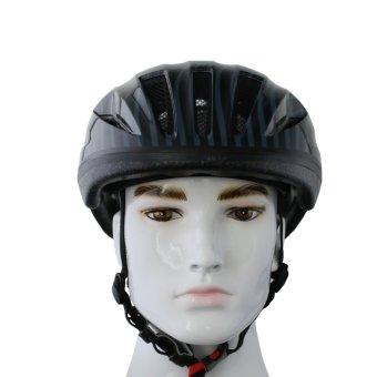 Nón bảo hiểm xe đạp Royal MH041B (Đen với họa tiết)