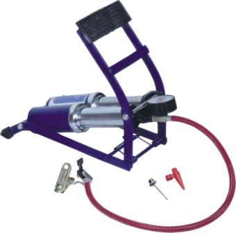 Bơm chân 2 ống đa năng C-mart L0002 (Xanh dương)