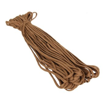 100FT Parachute Cord Lanyard Rope(Coffee) - intl
