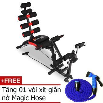 Máy tập cơ bụng đa năng New Six Pack Care + Tặng ống nước giãn nở Magic Hose