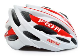 Mũ bảo hiểm đi xe đạp Fornix A02N050L (F1-050) Size L (Trắng phối đỏ)