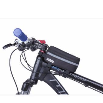Túi trên sườn xe đạp có cửa sổ cảm ứng cho điện thoại và vật dụng nhỏ BT99.H77 (ĐEN)