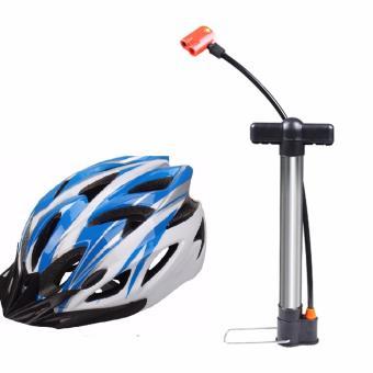 Bộ Mũ bảo hiểm và ống bơm mini dành cho xe đạp