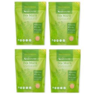 Bộ 4 gói bột Maca Nguồn Thiên Nhiên Organic Gelatinized 200g x 4