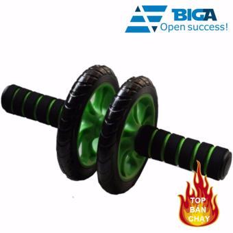 Máy tập cơ bụng 2 bánh xe AB (Xanh lá)