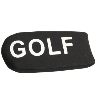 Black Set of 11pcs Golf Club Putter Iron Head Cover Case Protector Sleeve (Intl)