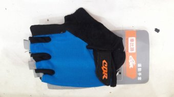 Găng tay xe đạp CBR( xanh dương)
