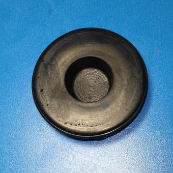 Combo 6 miếng cao su lót đầu xà đơn gắn cửa (đen trơn)