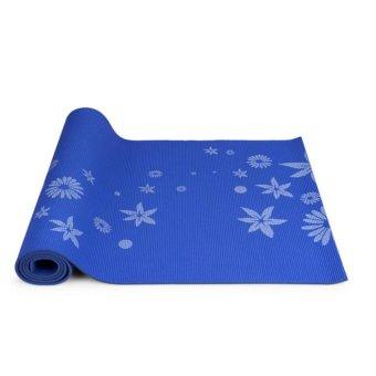 Thảm tâp Yoga hoa phucthanhsport (Xanh)