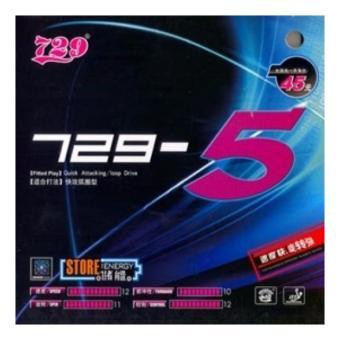 Mặt vợt bóng bàn 729-5( Màu đen)