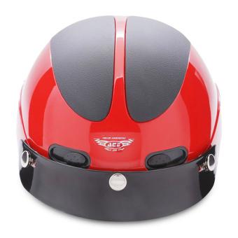 Nón bảo hiểm nửa đầu ACE - AN01 (Đỏ đen)