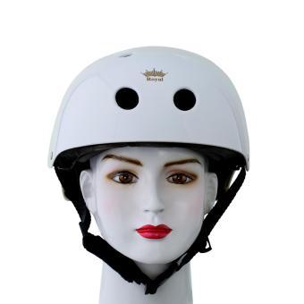 Nón bảo hiểm xe đạp Royal MH001 (trắng)
