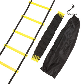 Durable 11 rung 18 Feet 6m Agility Ladder for Soccer Speed Training - intl