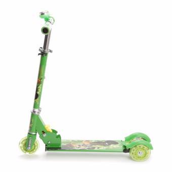 Xe scooter 3 bánh phát sáng