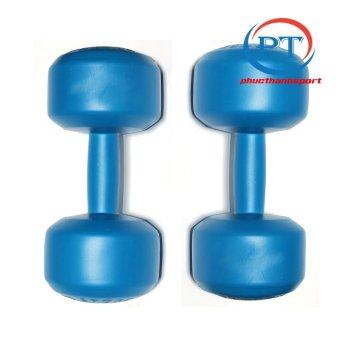 Bộ 2 tạ tay nhựa 6kg phucthanhsport