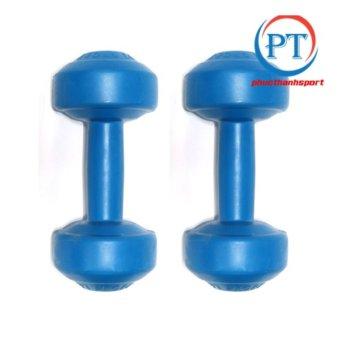 Bộ 2 tạ tay nhựa 2kg phucthanhsport